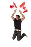 De gelukkige Dag van Canada Stock Afbeelding