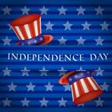 De gelukkige Dag van de Onafhankelijkheid royalty-vrije illustratie