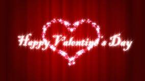 De gelukkige dag van de Valentijnskaart royalty-vrije illustratie