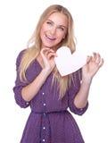 De gelukkige dag van de Valentijnskaart Stock Fotografie