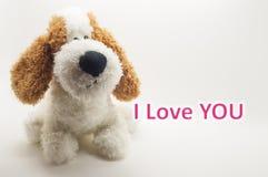 De gelukkige dag van de Valentijnskaart Stock Afbeeldingen