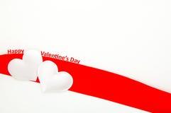 De gelukkige dag van de Valentijnskaart Royalty-vrije Stock Foto