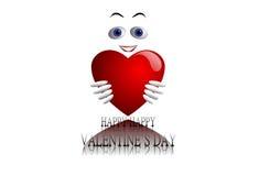 De gelukkige Dag van de Valentijnskaart `s Royalty-vrije Stock Foto's
