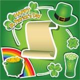 De gelukkige dag van Heilige Patrick ` s vector illustratie