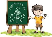 De gelukkige Dag van Moeders Stock Foto