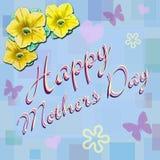 De gelukkige Dag van Moeders   Royalty-vrije Stock Foto's