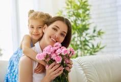 De gelukkige Dag van Moeders royalty-vrije stock afbeeldingen