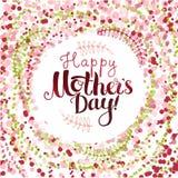 De gelukkige Dag van Moeders Stock Fotografie