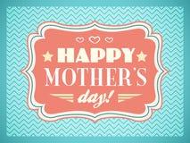 De gelukkige Dag van Moeders Editable voor partij van de uitnodigings de gelukkige verjaardag Stock Afbeelding