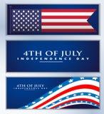 De gelukkige Dag van de Onafhankelijkheid Stock Foto's