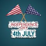 De gelukkige Dag van de Onafhankelijkheid Stock Afbeelding