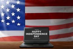 De gelukkige Dag van de Onafhankelijkheid royalty-vrije stock fotografie