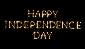 De gelukkige Dag van de Onafhankelijkheid Royalty-vrije Stock Afbeelding