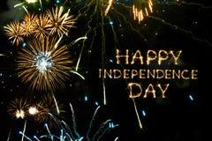 De gelukkige Dag van de Onafhankelijkheid Royalty-vrije Stock Foto's