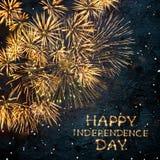 De gelukkige Dag van de Onafhankelijkheid Royalty-vrije Stock Foto