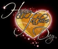 De gelukkige Dag van Vaders Stock Fotografie