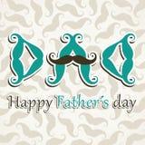 De gelukkige Dag van Vaders Royalty-vrije Stock Foto's