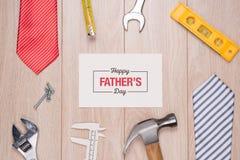 De gelukkige Dag van Vaders royalty-vrije stock afbeeldingen