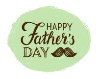 De gelukkige Dag van Vaders Stock Foto