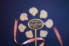 De gelukkige Dag van de Valentijnskaart `s stock foto's