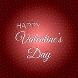De gelukkige Dag van de Valentijnskaart `s 14 van Februari 2018 Royalty-vrije Stock Foto's