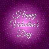 De gelukkige Dag van de Valentijnskaart `s 14 van Februari Royalty-vrije Stock Afbeelding