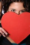 De gelukkige dag van Valentijnskaarten Stock Afbeeldingen