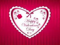 De gelukkige Dag van Valentijnskaarten Royalty-vrije Stock Foto