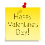 De gelukkige dag van Valentijnskaarten Royalty-vrije Stock Afbeelding