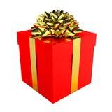 De gelukkige Doos van de Gift Stock Foto's