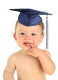 De gelukkige gediplomeerde van de babyjongen Royalty-vrije Stock Afbeelding
