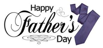De gelukkige Grafische Dag van Vaders Stock Afbeeldingen