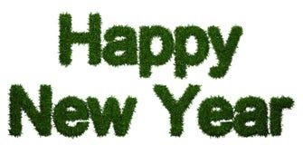 De gelukkige inschrijving van het Nieuwjaar Stock Afbeelding