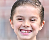 De gelukkige jongen Royalty-vrije Stock Afbeelding