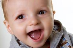 De gelukkige Jongen van de Baby stock afbeelding