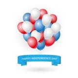 De gelukkige Kaart van de Onafhankelijkheidsdag Royalty-vrije Stock Foto's