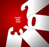 De gelukkige kaart van het Nieuwjaar 2013 Royalty-vrije Stock Fotografie