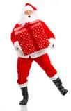 De gelukkige Kerstman van Kerstmis Stock Afbeeldingen