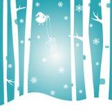 De gelukkige prentbriefkaar van het Nieuwjaar Royalty-vrije Stock Afbeeldingen