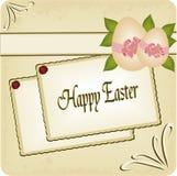 De gelukkige prentbriefkaar van Pasen Royalty-vrije Stock Foto's