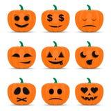 De gelukkige reeks van Halloween vector illustratie