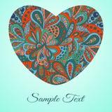 De gelukkige vectorillustratie van de Valentijnskaartendag Stock Fotografie