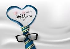 De gelukkige vectorillustratie van de vadersdag vector illustratie
