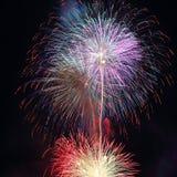 De gelukkige viering van het Nieuwjaar Stock Afbeelding