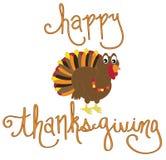 De gelukkige Vogel van Turkije van de Dankzeggingsvakantie Royalty-vrije Stock Afbeeldingen
