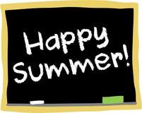 De gelukkige zomer Stock Fotografie
