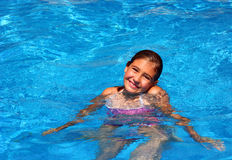 De gelukkige zomer Stock Foto's