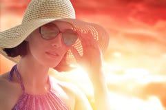 De gelukkige zomer stock afbeeldingen