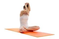 De gemakkelijke yoga stelt Stock Afbeelding