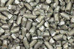 De gemalen achtergrond van de aluminiumdraad Royalty-vrije Stock Foto's